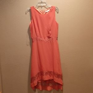 Hem & Thread orange dress sz S